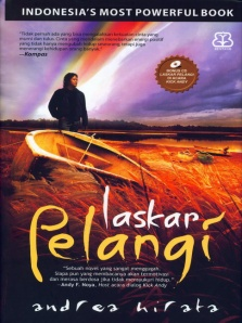 cover Laskar Pelangi_Indonesia