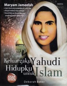 cover Keluargaku Yahudi Hidupku untuk Islam