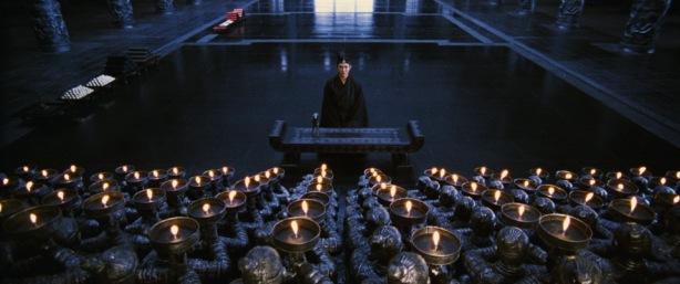 """Tak Bernama dalam """"public audience"""" dengan Raja Qin di dalam istana"""